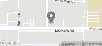 Map of 7919 Marbach Rd in San Antonio