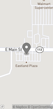 Map of 1403 E Main St in Eastland