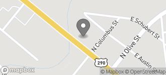 Map of 614 East Main ST in Fredericksburg