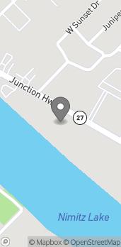 Map of 1381 Junction Highway in Kerrville