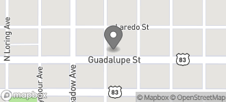 Map of 1702 Guadalupe St. in Laredo