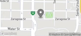 Map of 1108 Zaragoza Street in Laredo