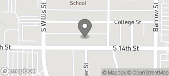 Map of 3234 South 14th Street in Abilene