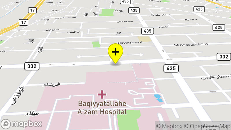 Khatamolanbia Hospital location