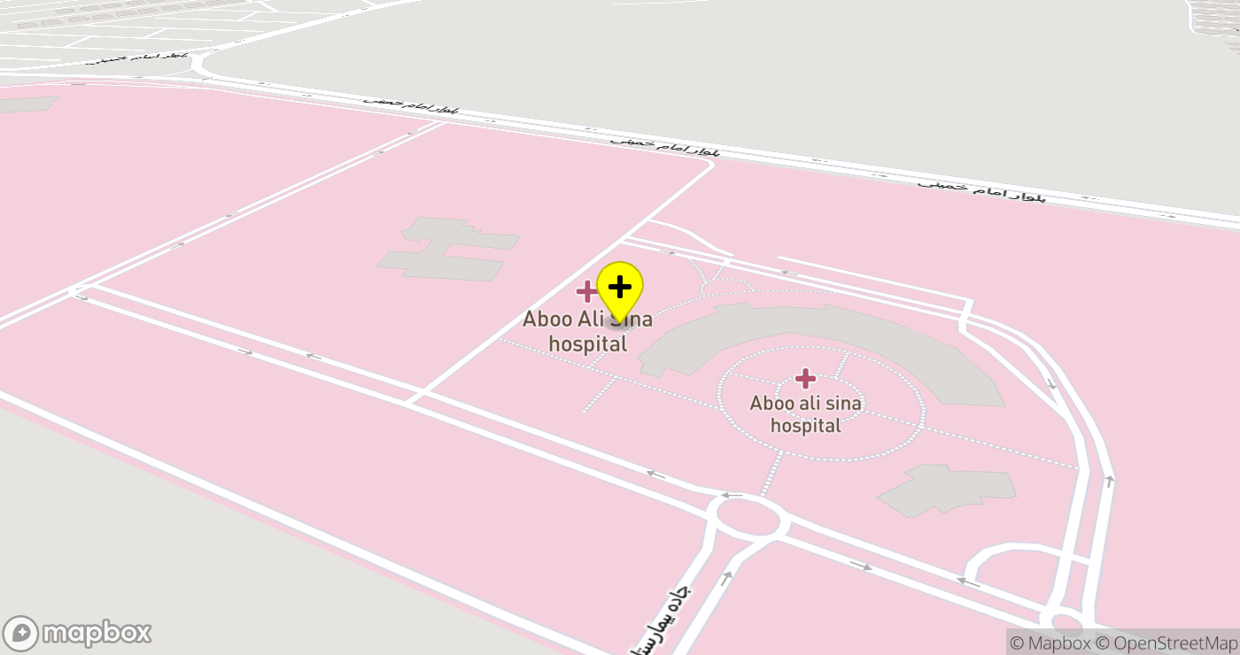 Abu Ali Sina Organ Transplantation Center location