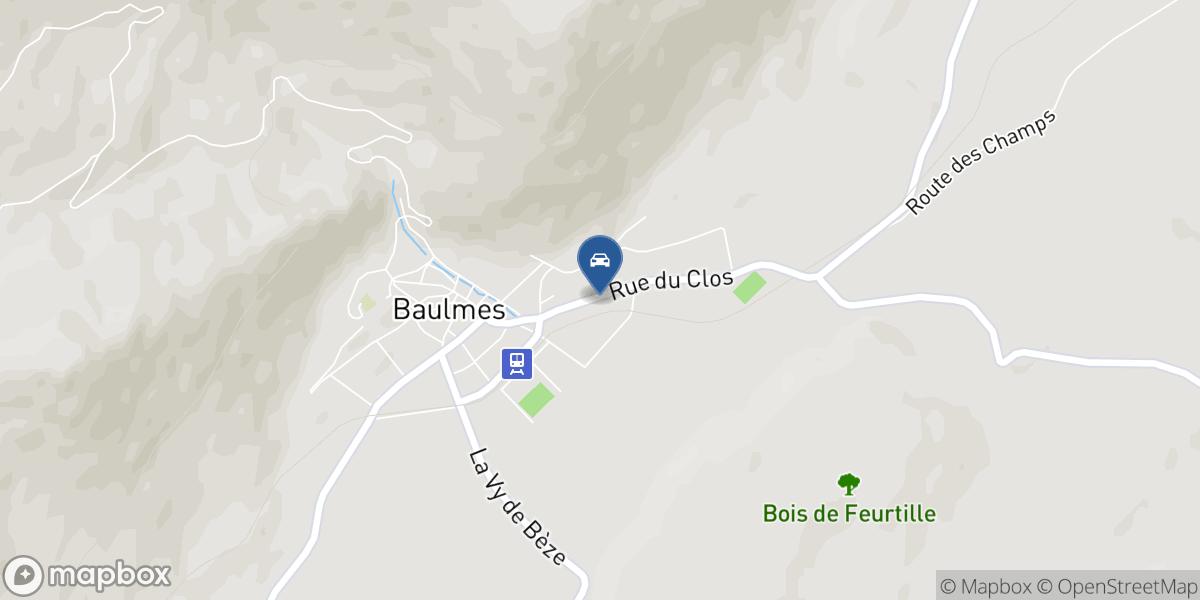 Auto-Tem SA map