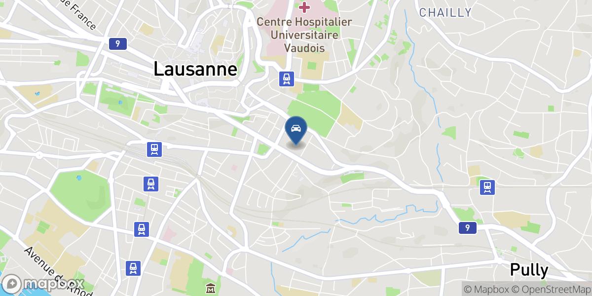 Garage Rumine map