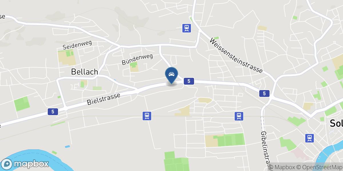 West-Stadt-Garage map