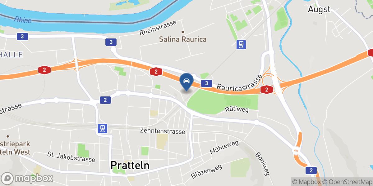 Garage Paolelli GmbH map