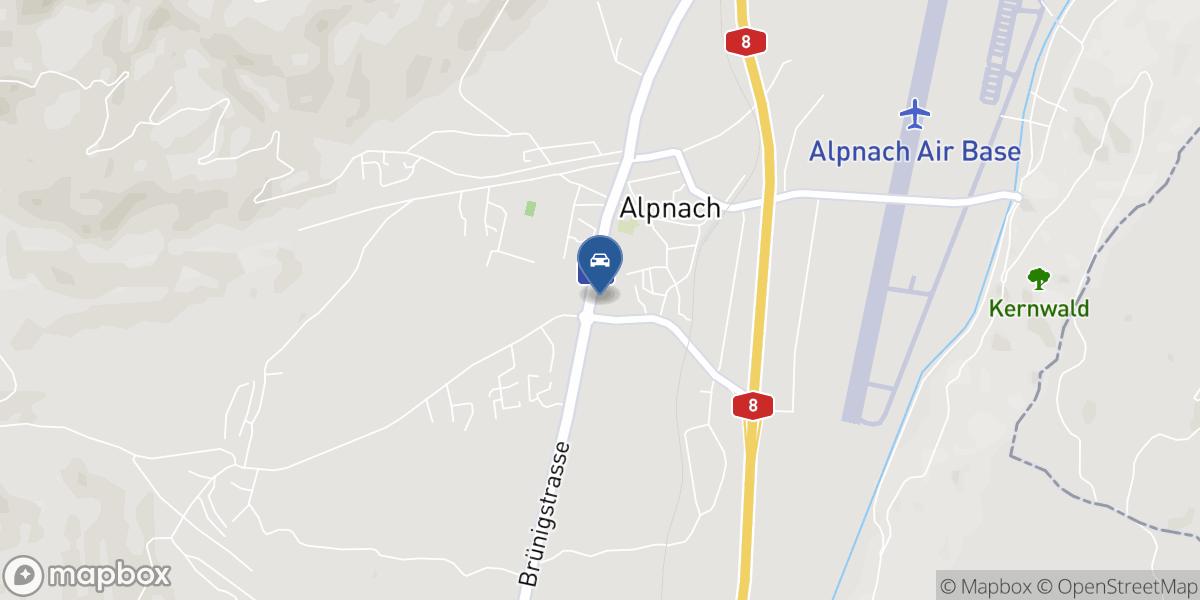 Auto-Center Durrer AG map
