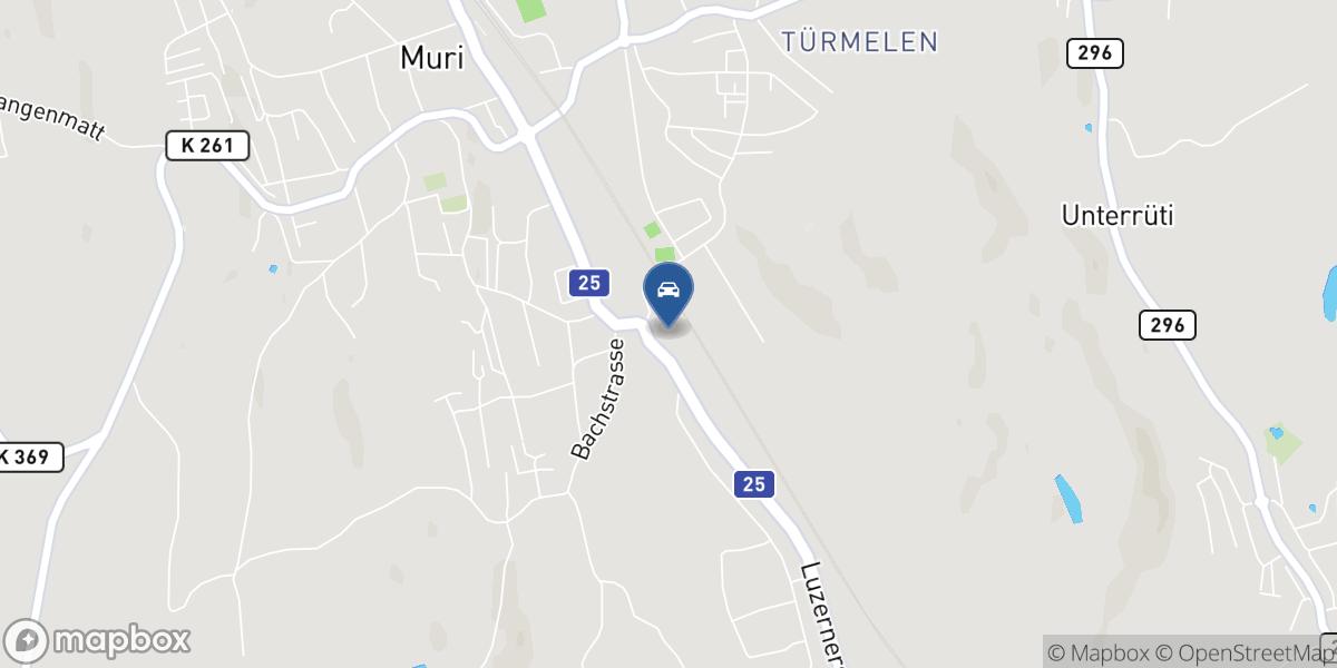 Jani Garage GmbH map