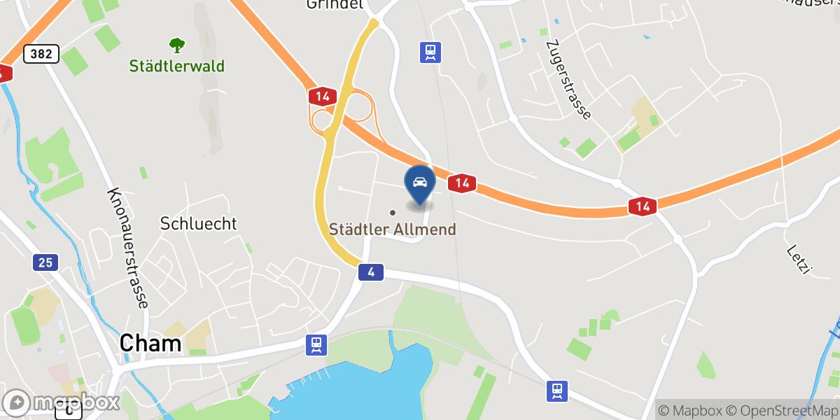 Auto Kaiser AG map