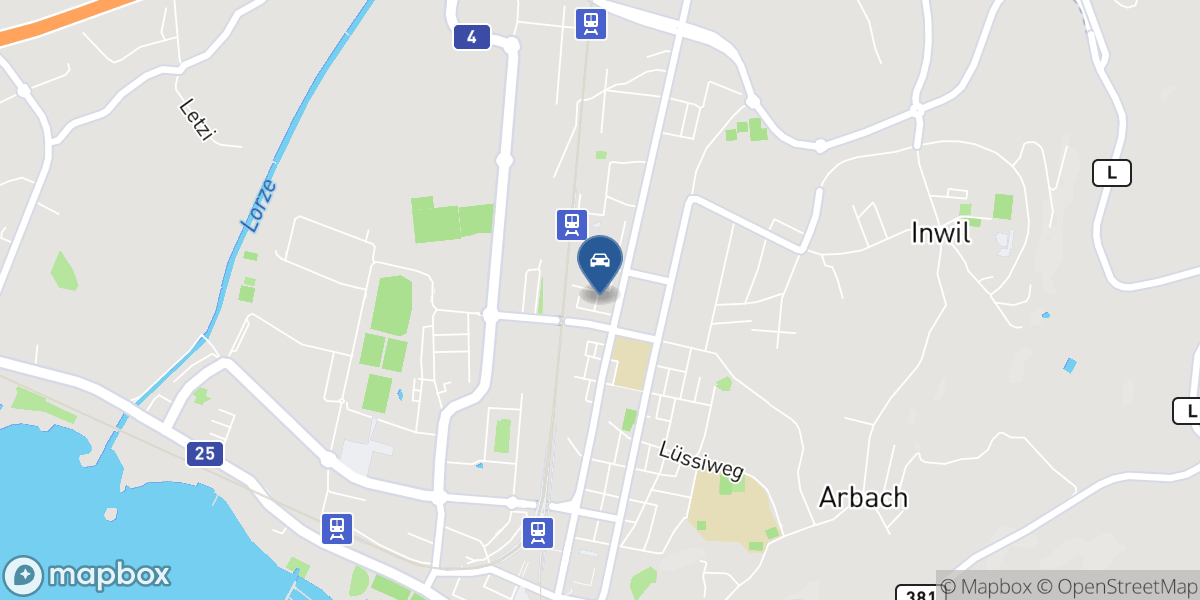 Auto Wild AG map