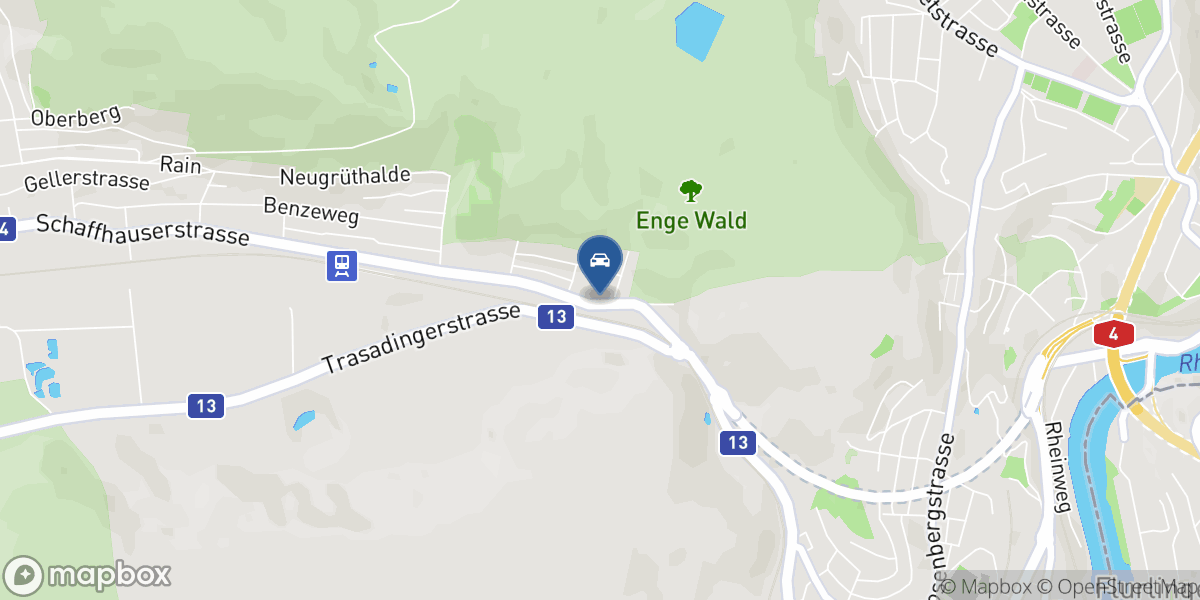 Garage Engehof Werner GmbH map