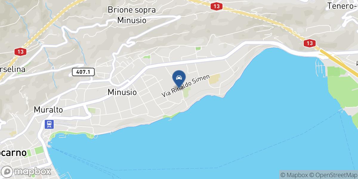 Garage Rivapiana SA map
