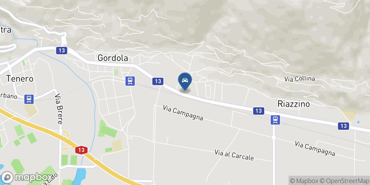 De Bernardi Automobili map