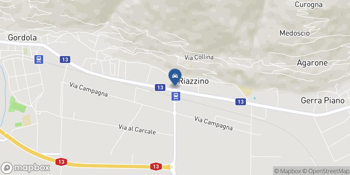 Autonec SA map