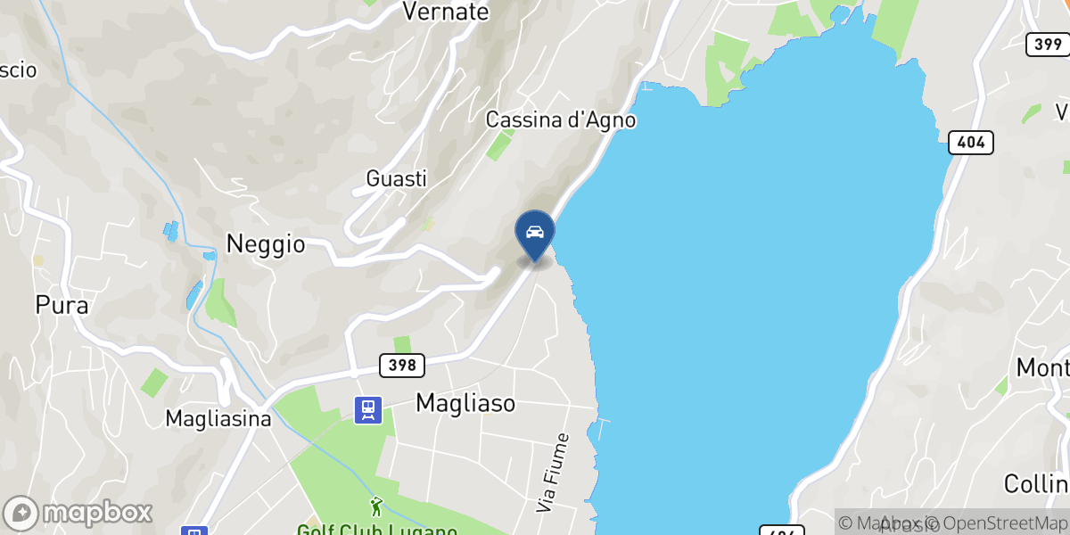 Garage Vallone SA map