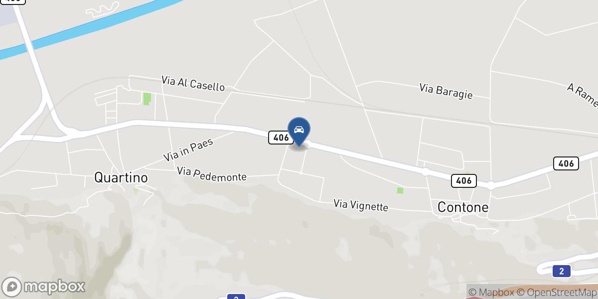 Auto Luserte SA map