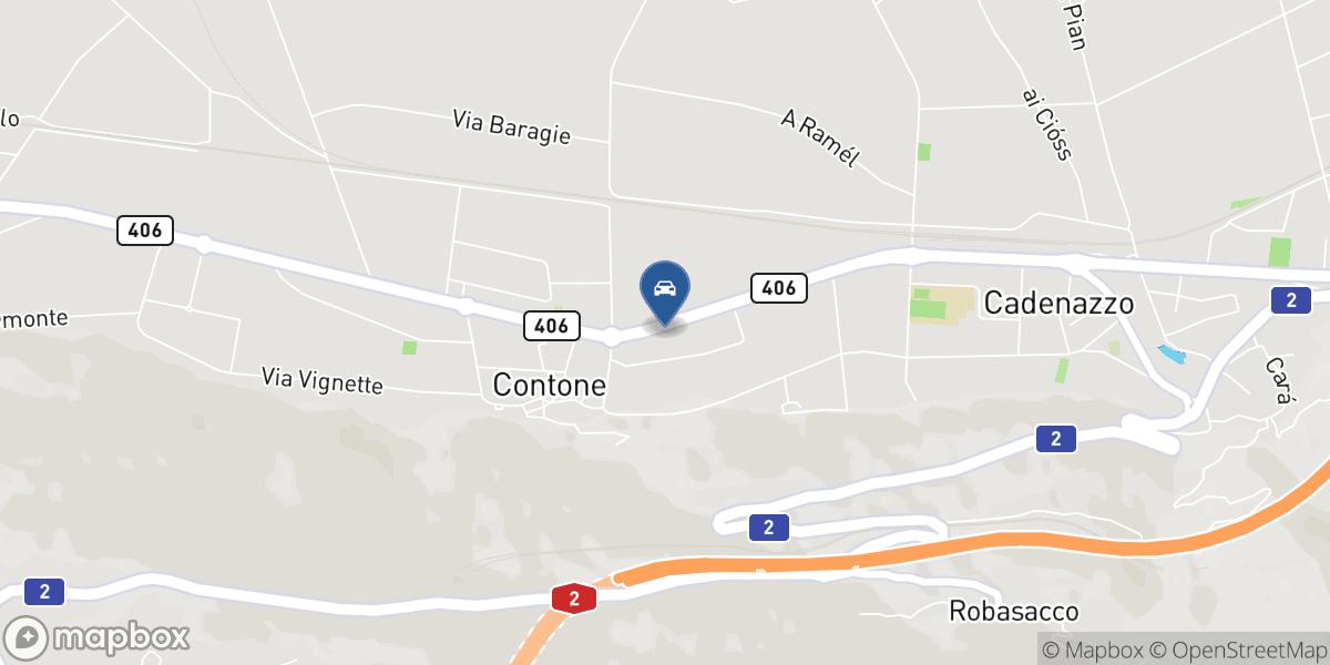Bacciarini Danilo Garage map