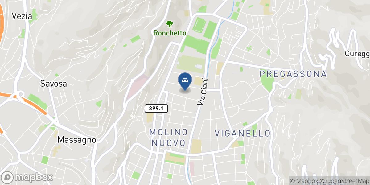 Autocosmo SA map