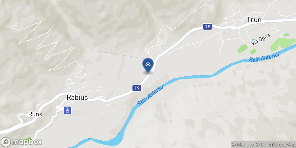 Mazzetta garascha Greina SA map