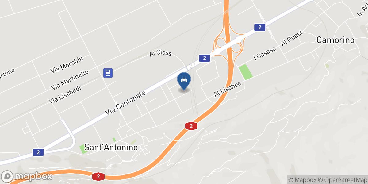 Auto Alius Sagl map