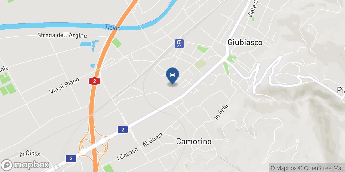Garage Lucauto map