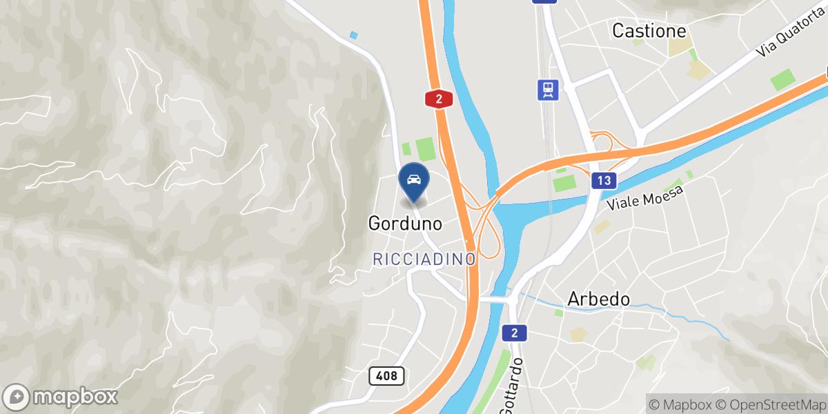 Autocentro Tamagni SA map