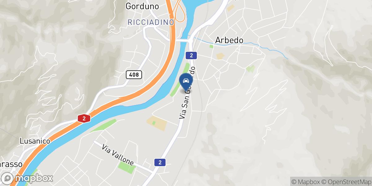 Garage Torretta SA map