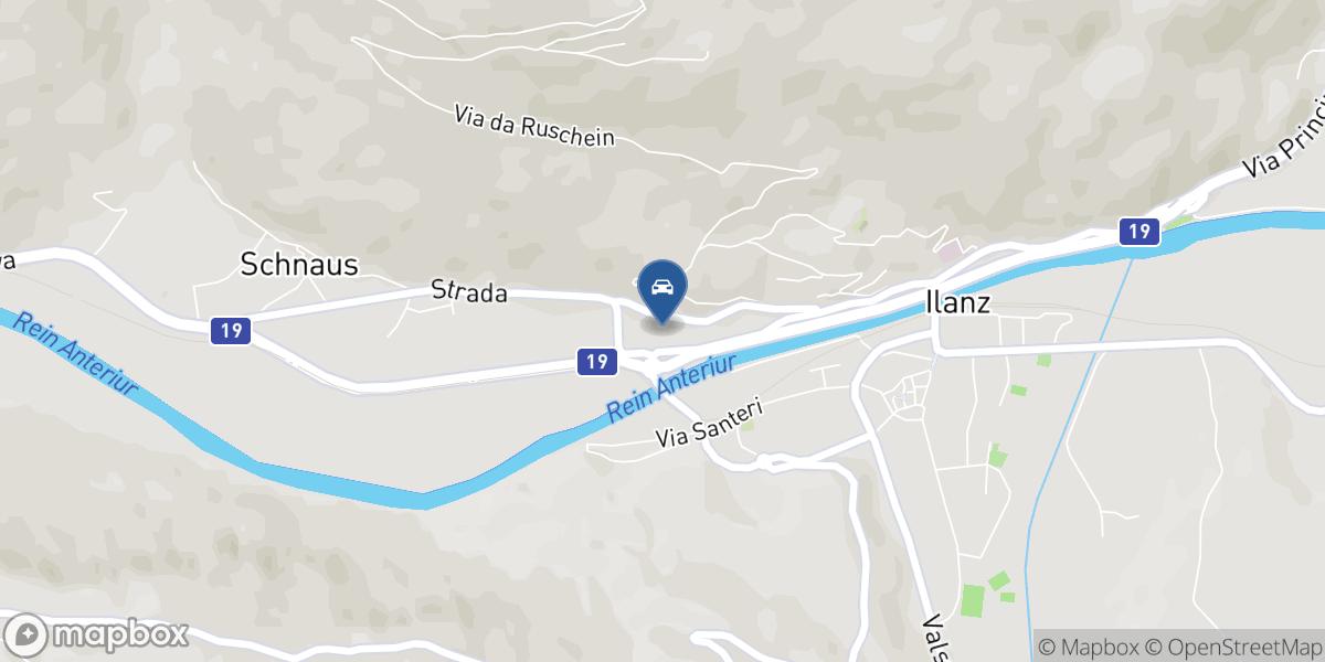 Auto Derungs AG map