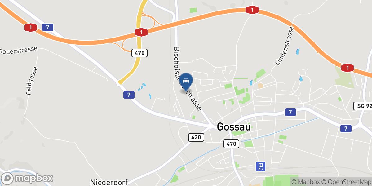 Garagen Guido Casutt AG map