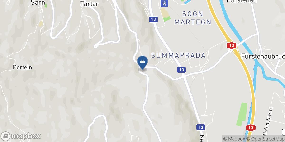 Garage Kunfermann AG map
