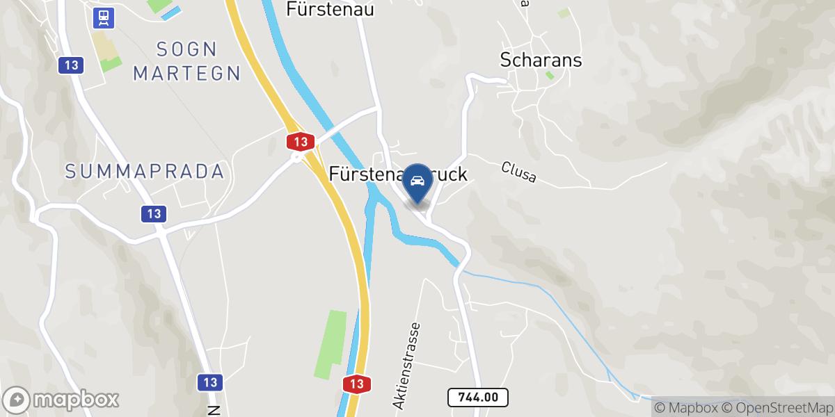 Mutti Romano map