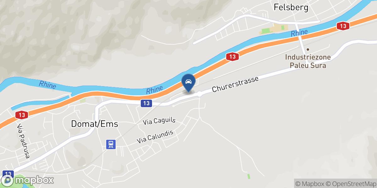 Amando Maissen AG map