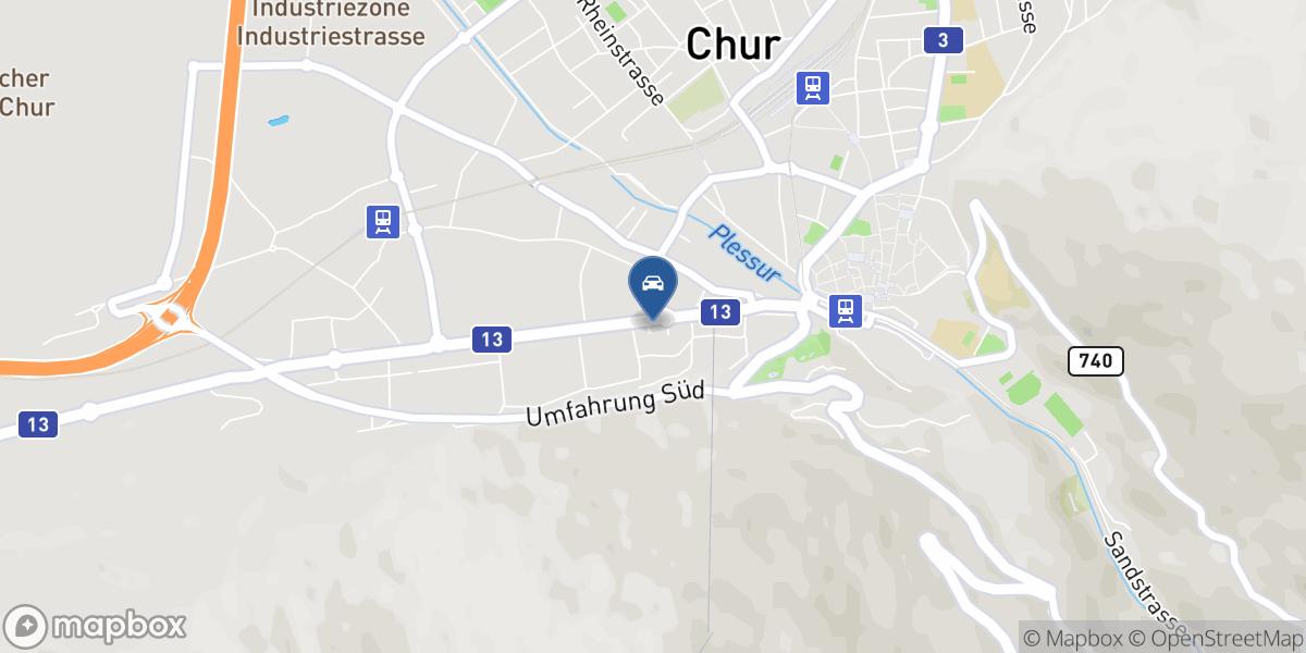 Carrosserie Claus map