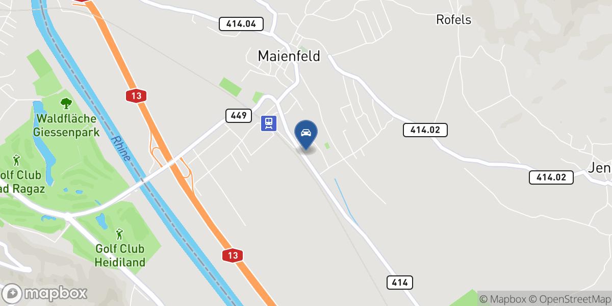 Falknisgarage Kunz AG map