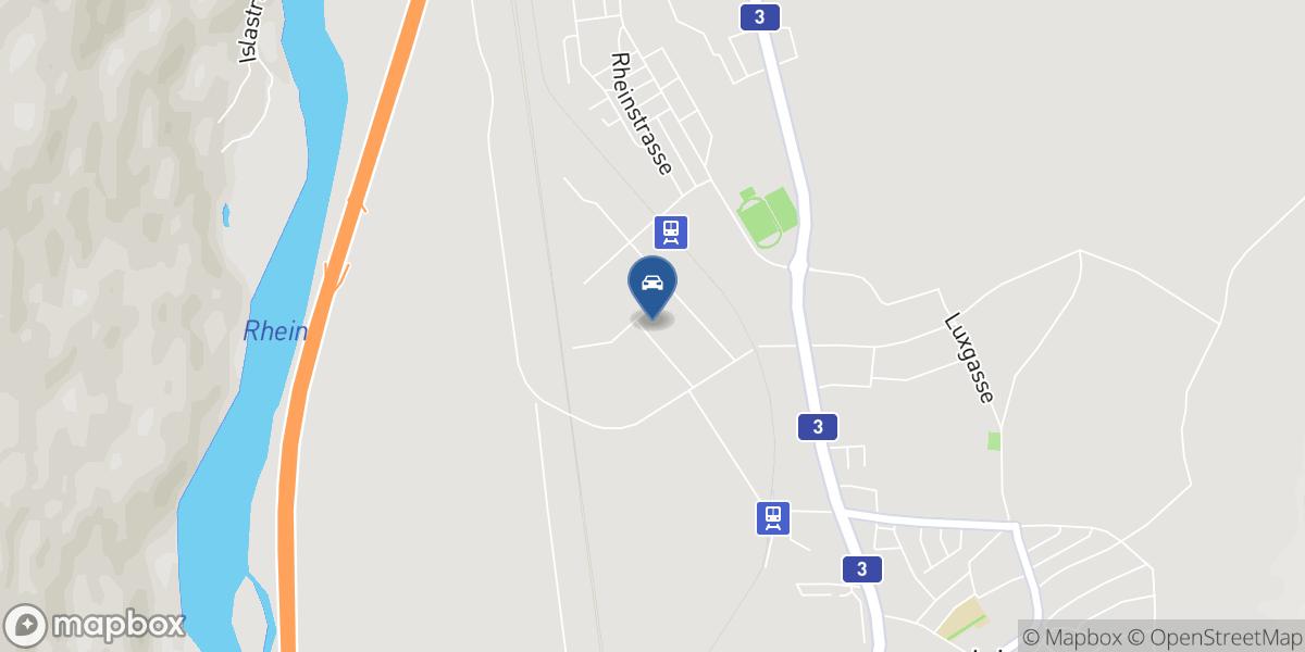 Garage Carrosserie Aschwanden map