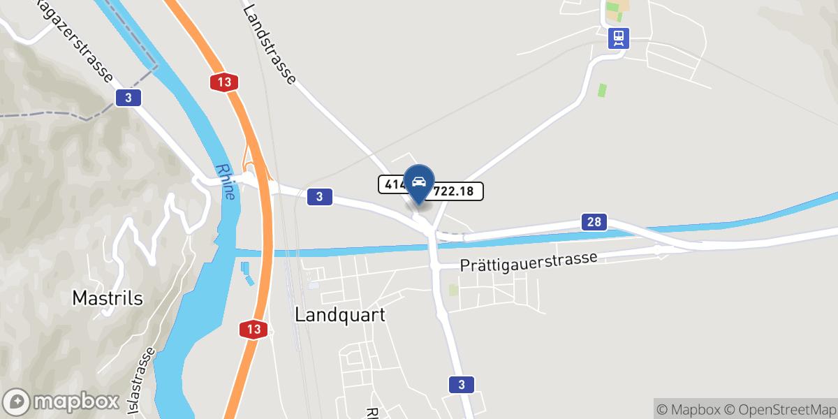 AK Car Shop AG map
