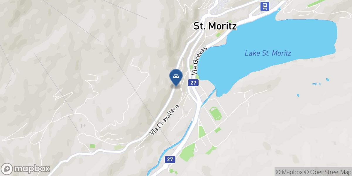 Sportgarage St. Moritz GmbH map