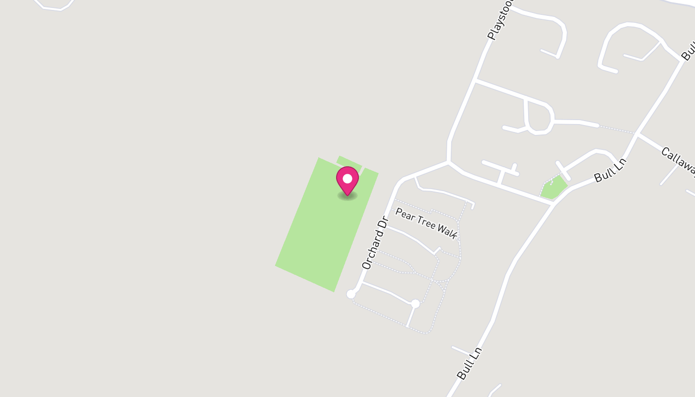 Map of Newington Youth Club  - Into the Red Zone - See Description location