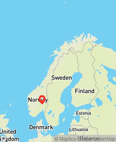 Mapbox Map of 10.40418,60.24351)