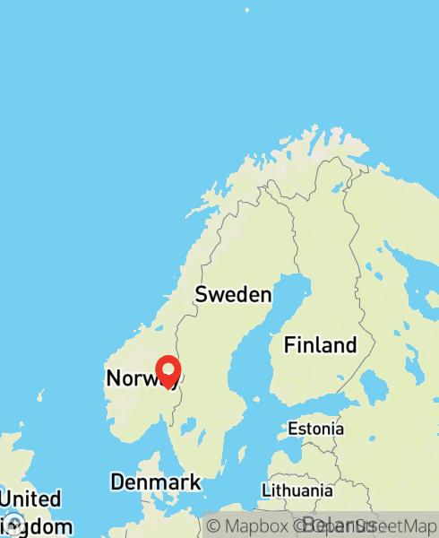 Mapbox Map of 11.25642,60.49923)