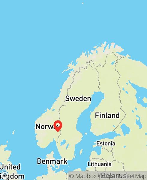 Mapbox Map of 11.69577,60.26365)