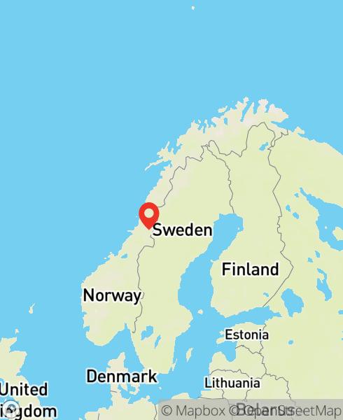 Mapbox Map of 13.48644,64.66661)
