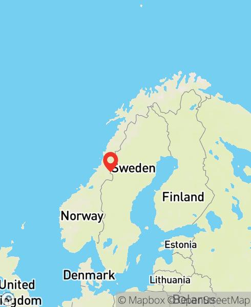 Mapbox Map of 13.7165103,64.3600142)