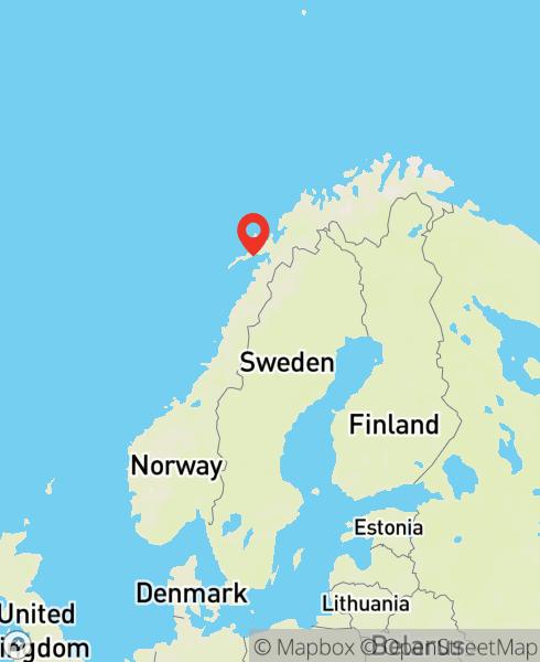 Mapbox Map of 14.9940348,67.9208926)