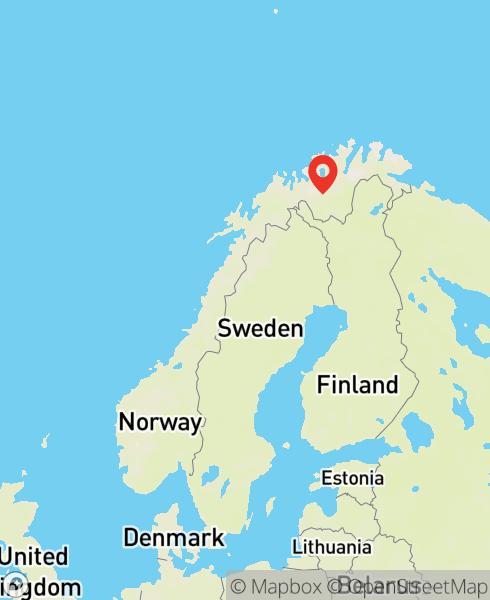 Mapbox Map of 23.20851,69.09817)