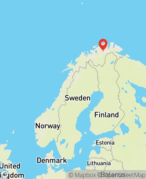 Mapbox Map of 25.18779,69.83073)