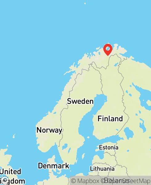Mapbox Map of 25.5200295,69.4734056)